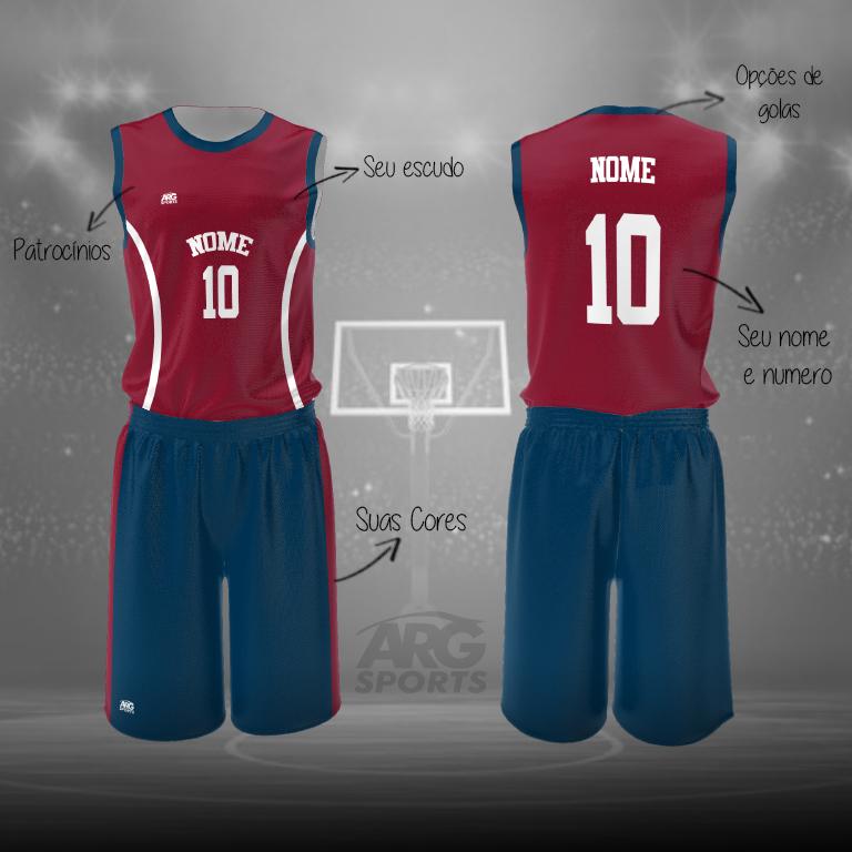 Kit Basquete Personalizado – B001