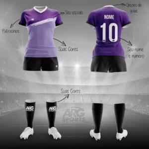 Uniforme Futebol Feminino F001