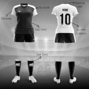 Kit Completo Futebol Feminino - F009