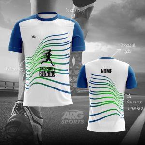 Camiseta Dry Fit Corrida Winner branca – C010