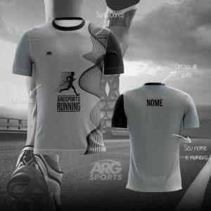 Camiseta Dry Fit Corrida Silver  – C012