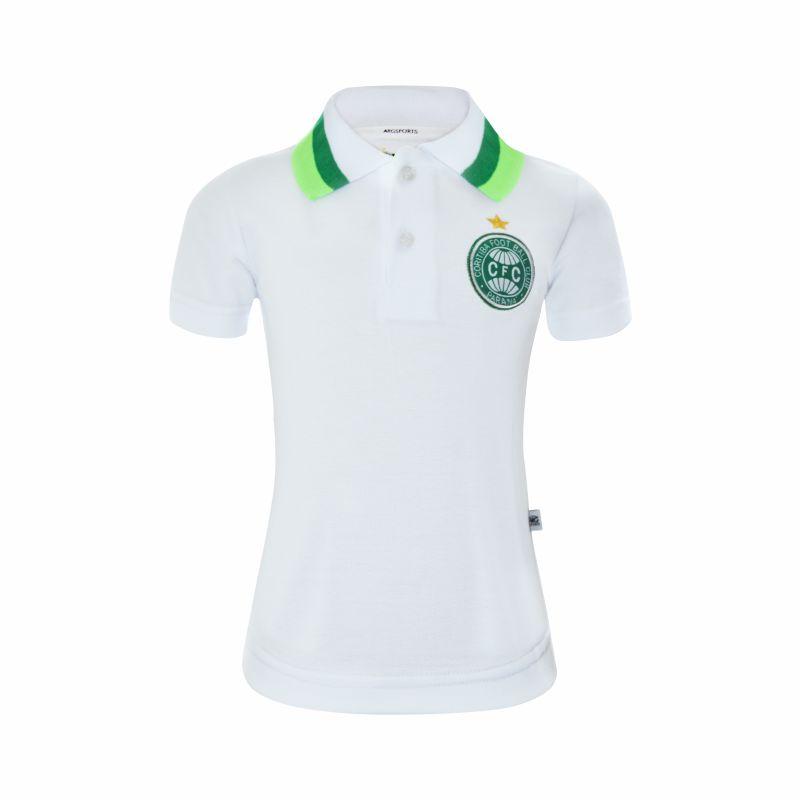 Camisa Polo Coritiba Branca