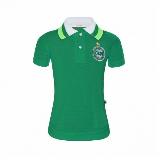 Camisa Polo Coritiba Verde ... 607dc4011d71c