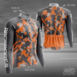 Camiseta Ciclismo Camuflada