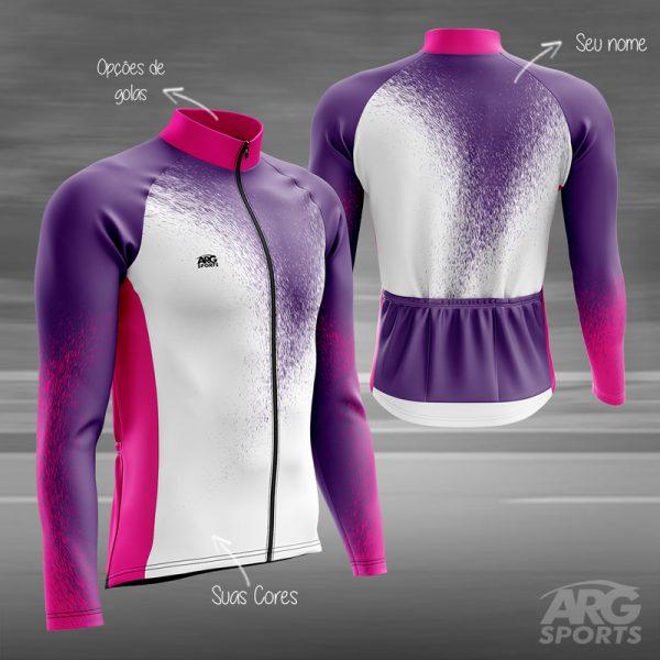 Camiseta Ciclismo Purple Rain