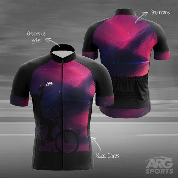 Camiseta Ciclismo Universe - L013
