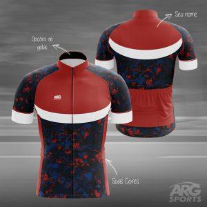Camiseta Ciclismo Mescla - L019