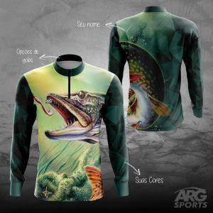 Camiseta Pesca Pike