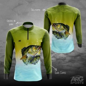 Camiseta Pesca Sea Bass