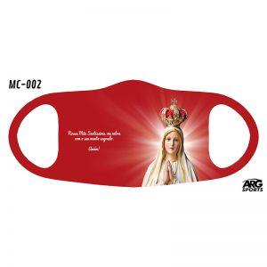 Máscara Personalizada Virgem Maria