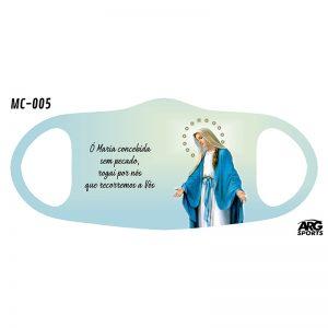 Máscara Personalizada Nossa Senhora das Graças