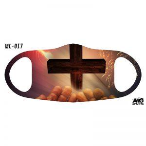 Máscara Personalizada Cruz