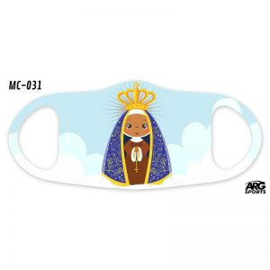 Máscara Personalizada Mini Nossa Senhora