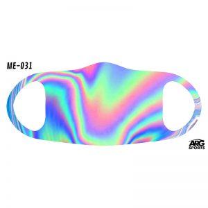 Máscara Personalizada Holográfica