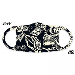 Máscara Personalizada Esqueleto
