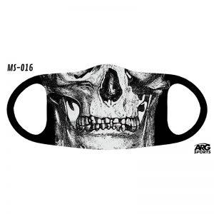 Máscara Personalizada Caveiras 3D