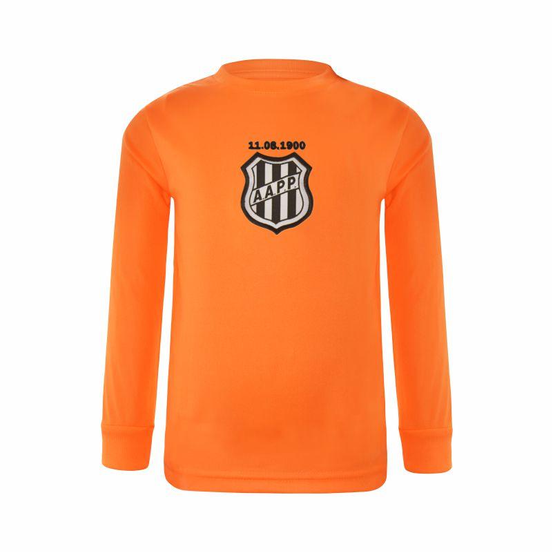 Camiseta Goleiro Infantil Ponte Preta