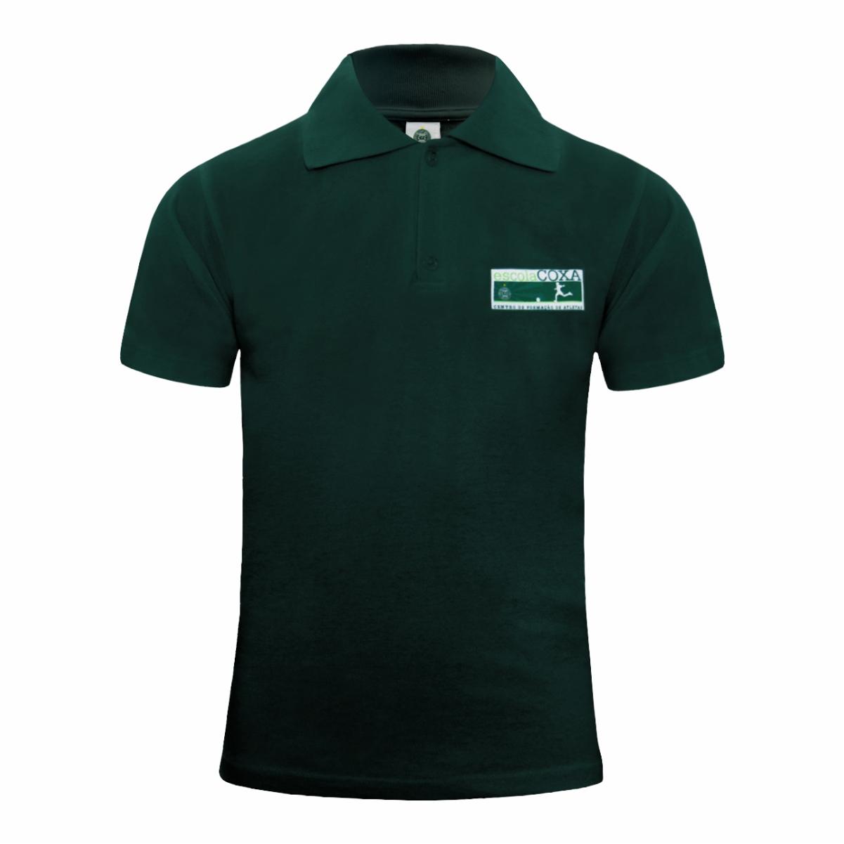 Camisa Polo Verde Escola Coxa