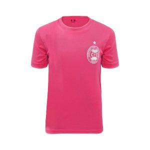Camiseta Rosa Coritiba Infanto-Juvenil