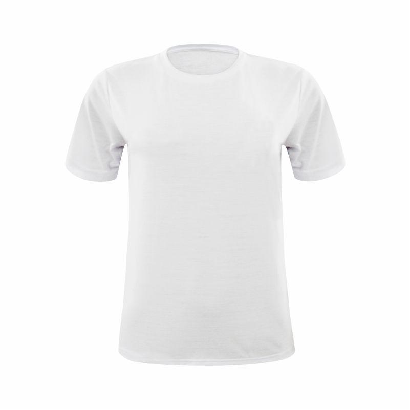 Camiseta Manga Curta Branca Masculina